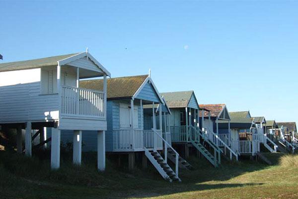 beach huts hunstanton