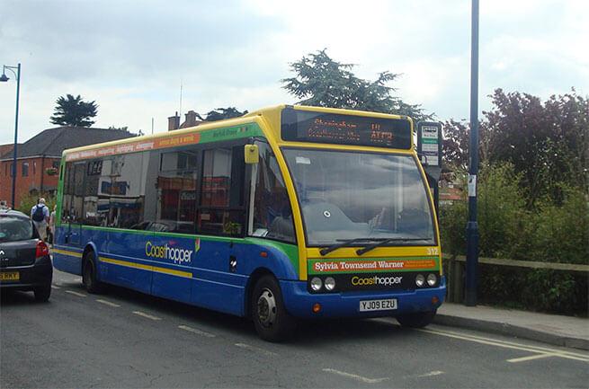 Coast Hopper Bus Norfolk