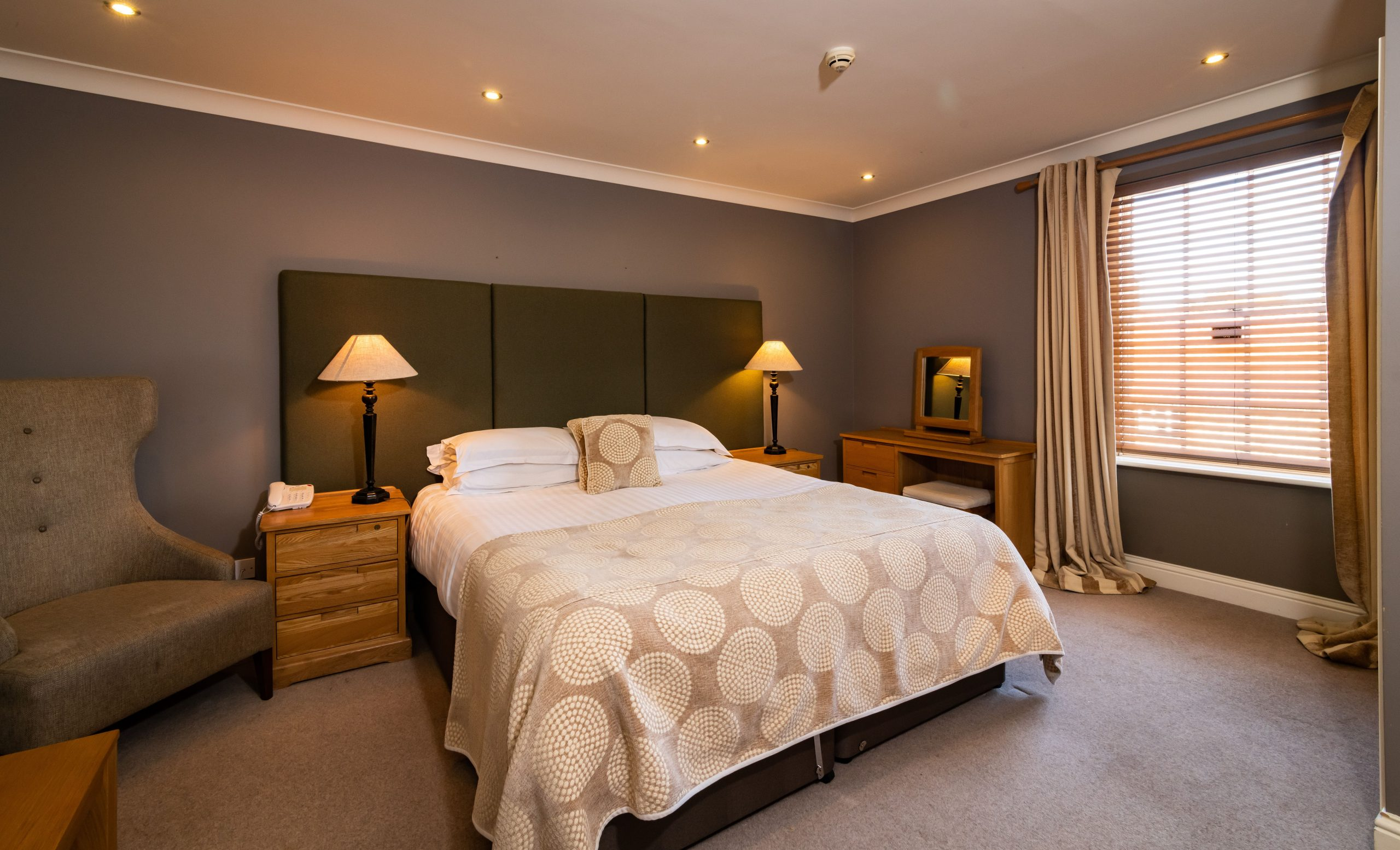 Superior rooms avaiable at The Lodge, Old Hunstanton.